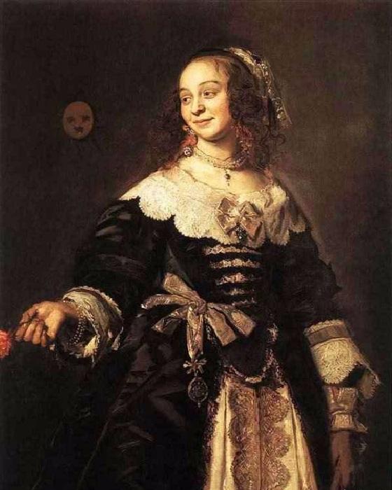 Портрет Изабеллы Койманс. (1650-1652 гг.) Автор: Франс Хальс.