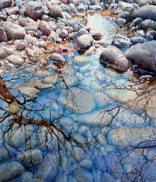 Живые акварели турецкой художницы Рукие Гарип.| Фото: livemaster.ru.