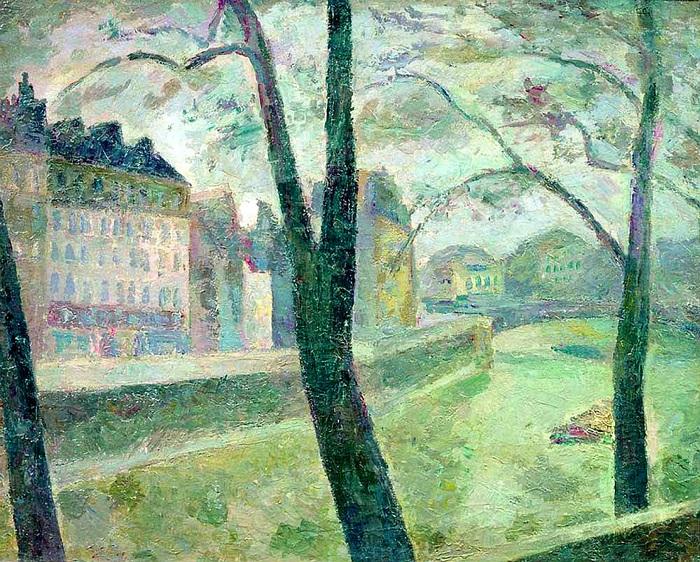 Париж. Сена. (1936). Автор: Роберт Рафаилович Фальк.