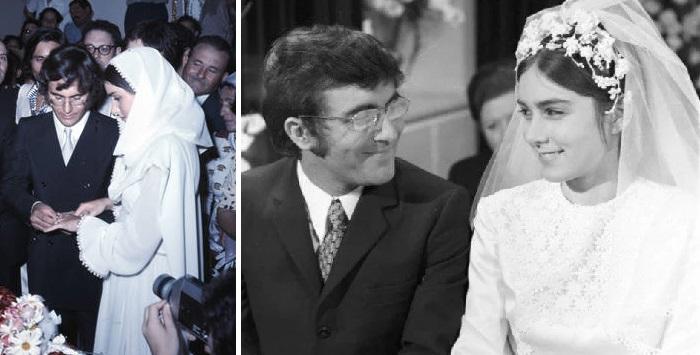 Аль Бано и Ромина Пауэр. Венчальная церемония.