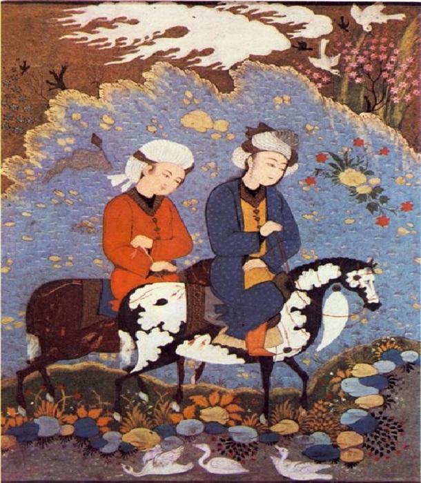 Иранская миниатюра.