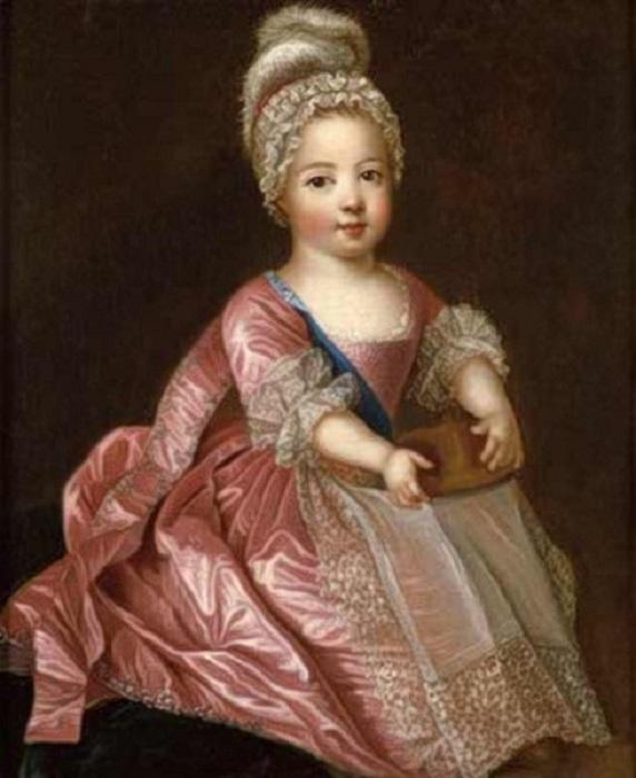 «Портрет Людовика XV» (1712 год). Автор: Пьер Гоберт.