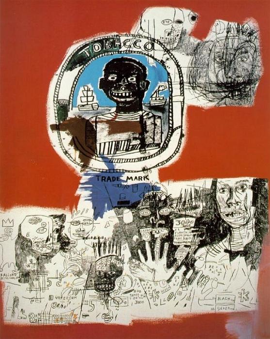 Логотип. (1984). Автор: Жан-Мишель Баския.