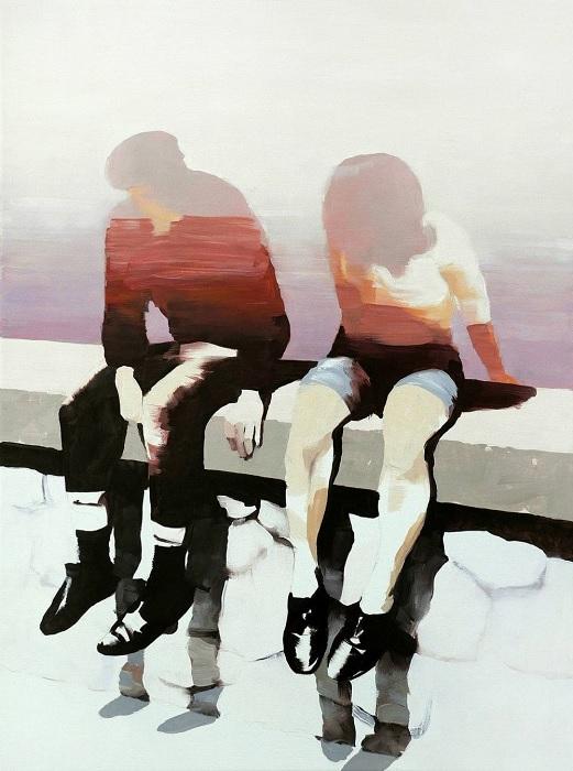 On the shore. (На берегу). Автор: Jarek Puczel.