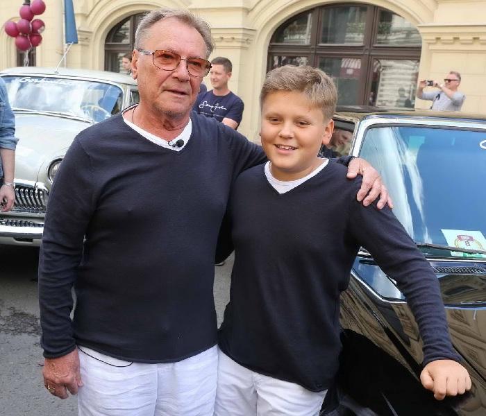 Шакуров с сыном Маратом.
