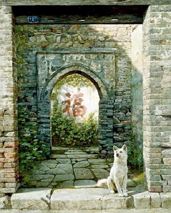 Живопись от Тянь Хайбо.