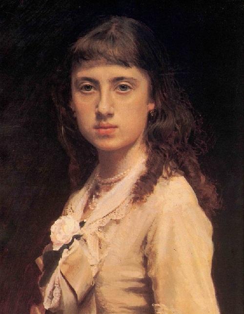 Портрет дочери художника. (1882). Автор: И.Н.Крамской. ¦ Фото: maxpark.com.