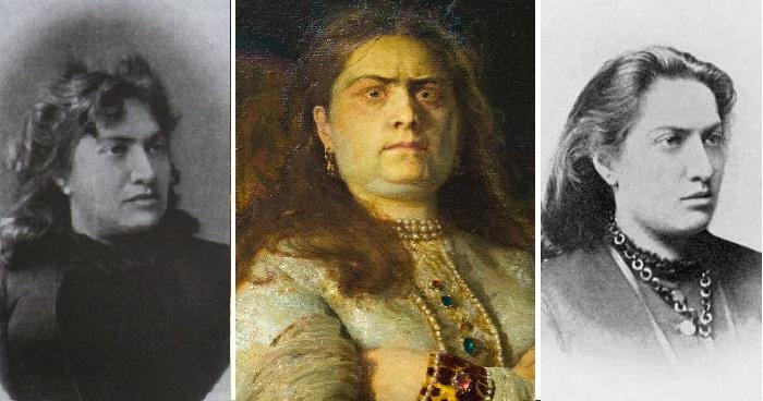 Валентина Серова, Мать художника В. Серова, послужившая прототипом образа на картине Репина «Царевна Софья Алексеевна». (1879 год).