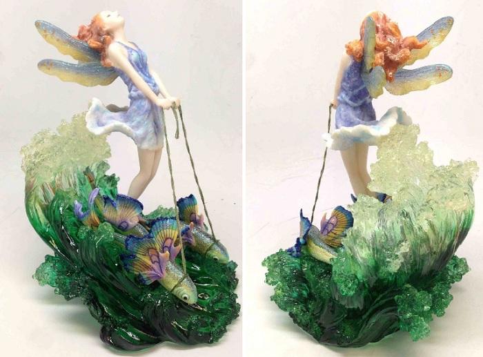 Зачарованные миры в скульптуре от Жозефины Уолл.