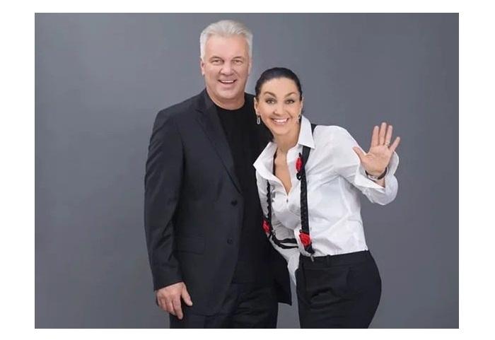 Анатолий Котенёв и Светлана Боровская.