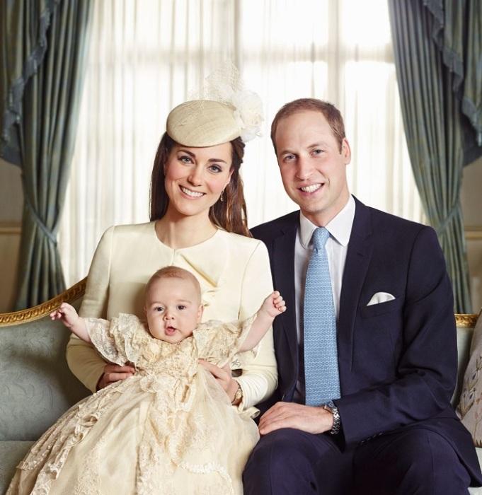 Крестины малыша Джорджа.