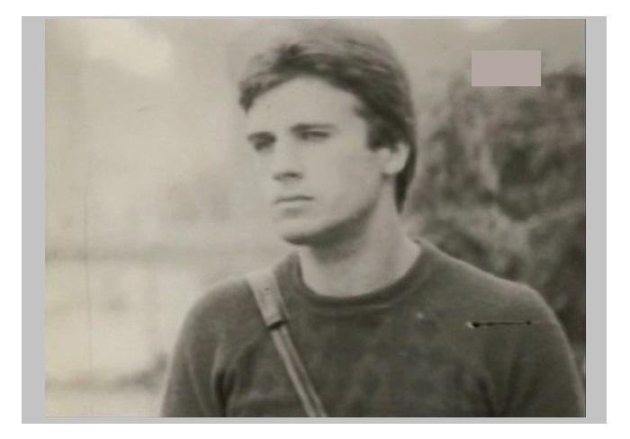 Александр Дедюшко в молодые годы.