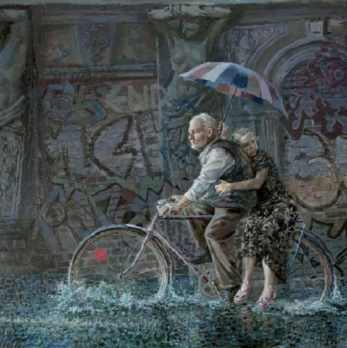 «Дожители». Реалистический сюрсимволизм от Андрея Шатилова.