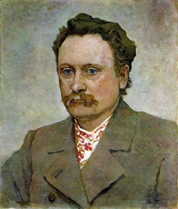 Иван Труш. Портрет Ивана Франко. 1940 г.
