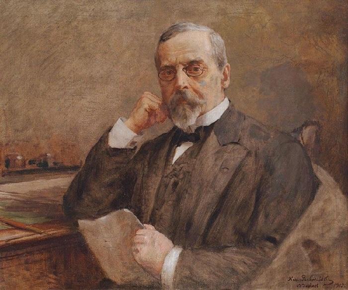 Портрет Генрика Сенкевича.