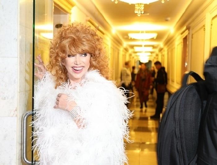 Елена Воробей в образе Аллы Пугачевой.