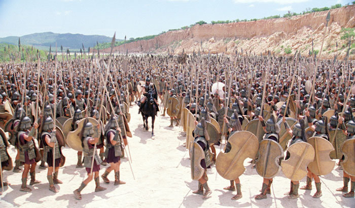 Троя (2004). Кадры из фильма.