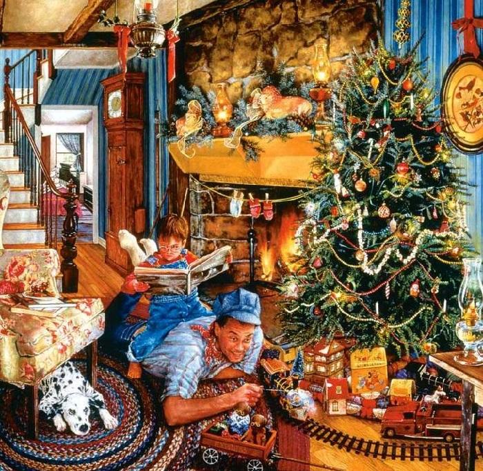 Новогодние подарки. Истории от Сьюзан Брабо.