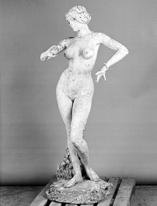 «Танцовщица», 1896 год. Автор: А.Фальгьер.