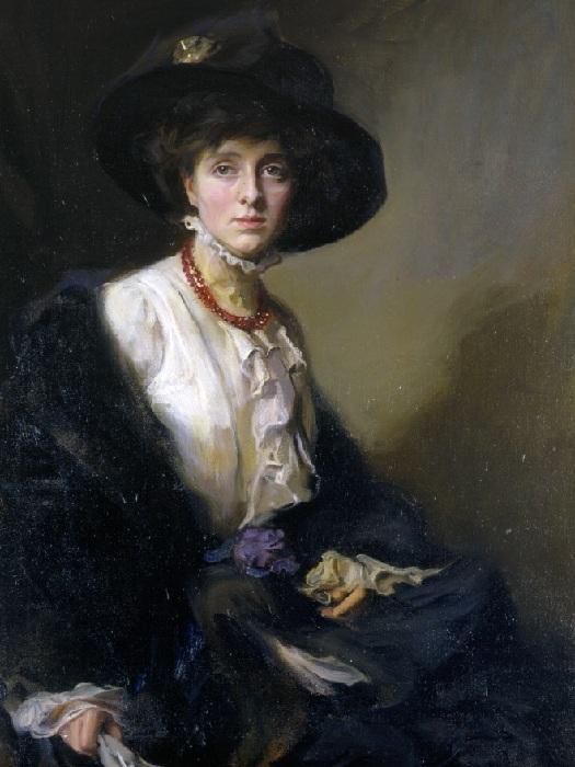 Писательница Вита Сэквилл-Уэст, 1910 год.