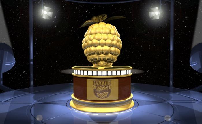 Символ антипремии «Золотая малина».