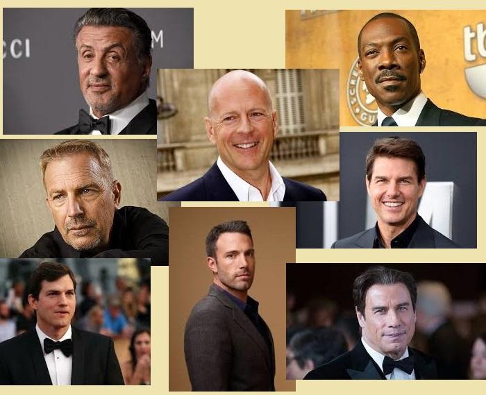 Лауреаты «Золотой малины» разных годов. Премия за худшую мужскую роль.