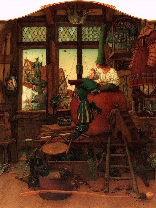 «Храбрый портняжка». Иллюстрации от Андрея и Ольги Дугиных.