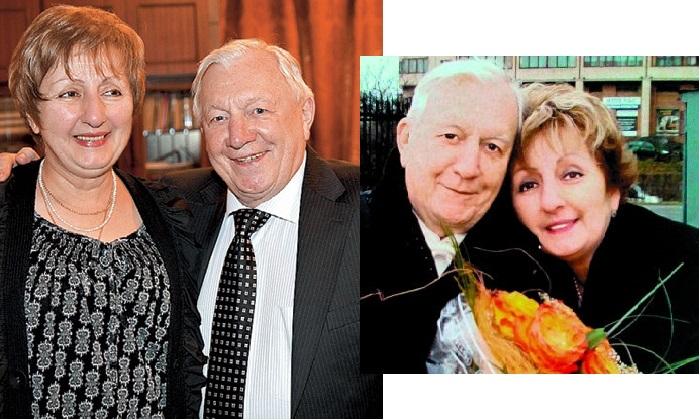 Георгий Штиль и вторая жена Лиана