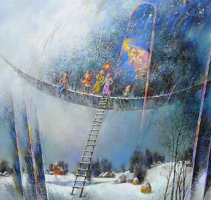 Рождество. Автор: Анатолий Концуб.