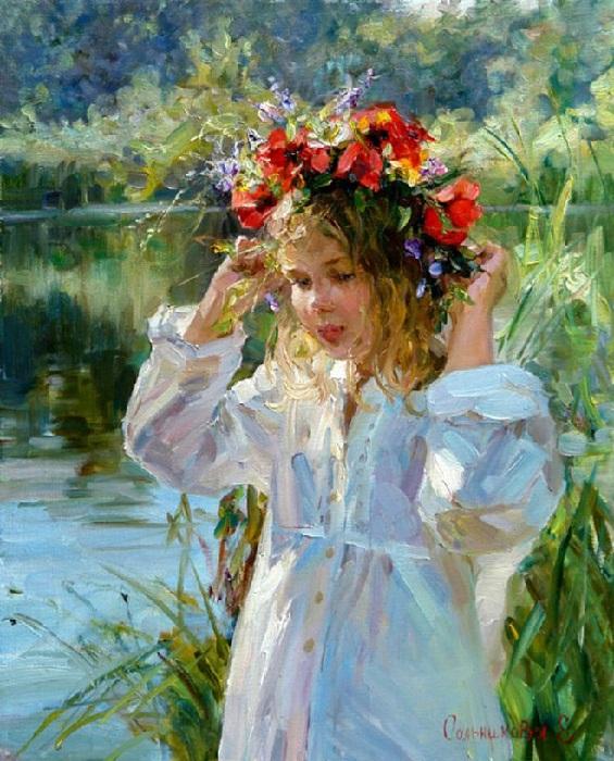 Летняя красавица. Автор: Елена Сальникова.