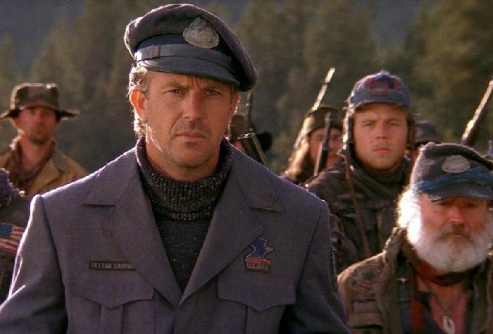 Кадр из кинофильма «Почтальон» (1997год).