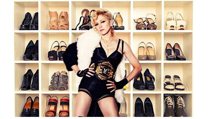 Мадонна - коллекционер обуви.