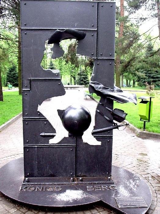 Памятник барону Мюнхгаузену, Калининград.