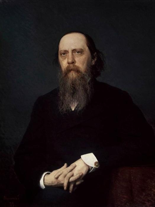 Портрет Михаила Евграфовича Салтыкова-Щедрина. Автор: Иван Крамской.