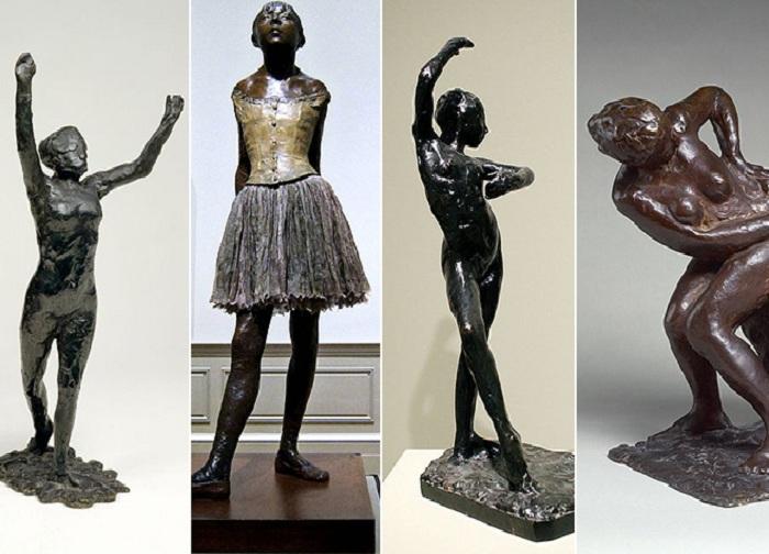 Скульптуры Эдгара Дега.