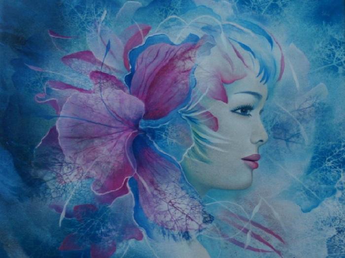 Зимние метаморфозы. Автор: Jeannette Guichard-Bunel.   Фото: art-veranda.ru.