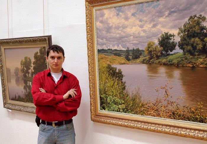 Алексей Адамов – российский художник пейзажист, маринист.