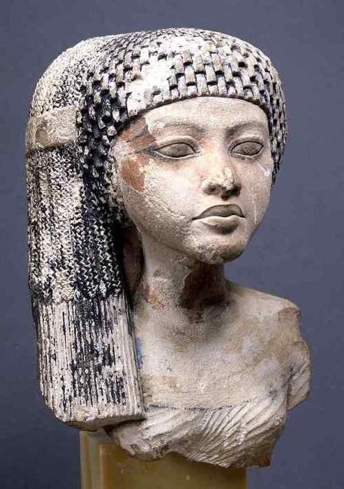 Меритатон - дочь и третья жена фараона Эхнатона.