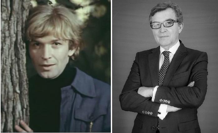 Владимир Борисов в молодости и в наши дни.