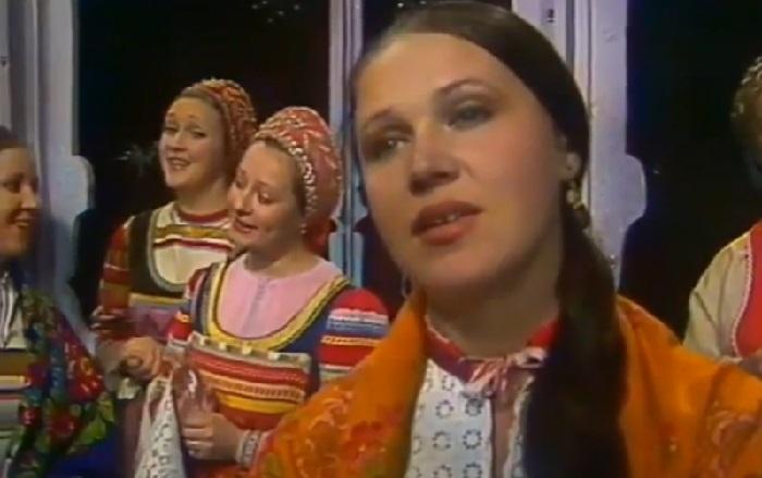 Надежда Бабкина на заре своей певческой карьеры.