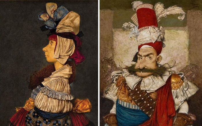 Портреты. Живопись Тарона Мурадяна.