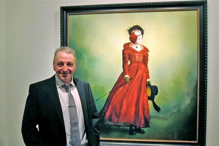 Канадский художник-сюрреалист Рей Цезарь