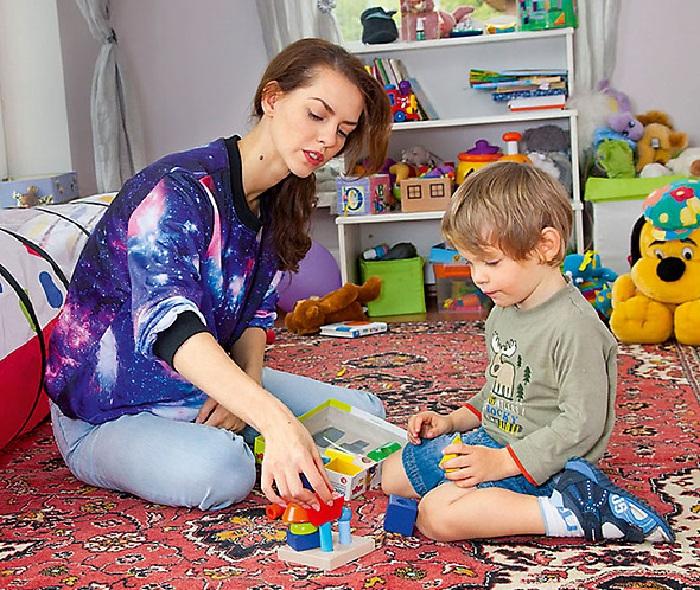 Лянка с сыном Максимом.
