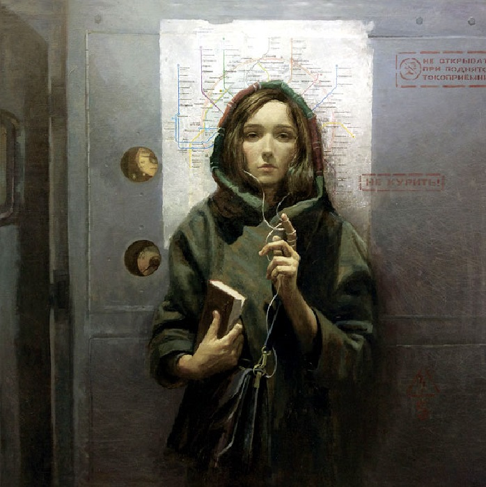 «Московская молитва». Реалистический сюрсимволизм от Андрея Шатилова.