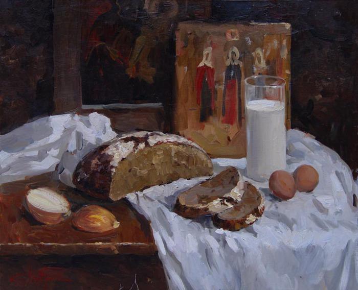 «Не хлебом единым». Автор: Дацук Кирилл.