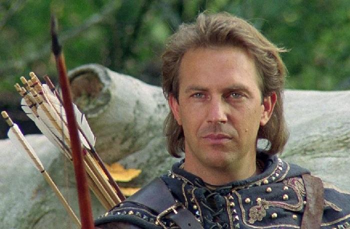 Кадр из кинофильма «Робин Гуд: Принц воров» (1991 год).