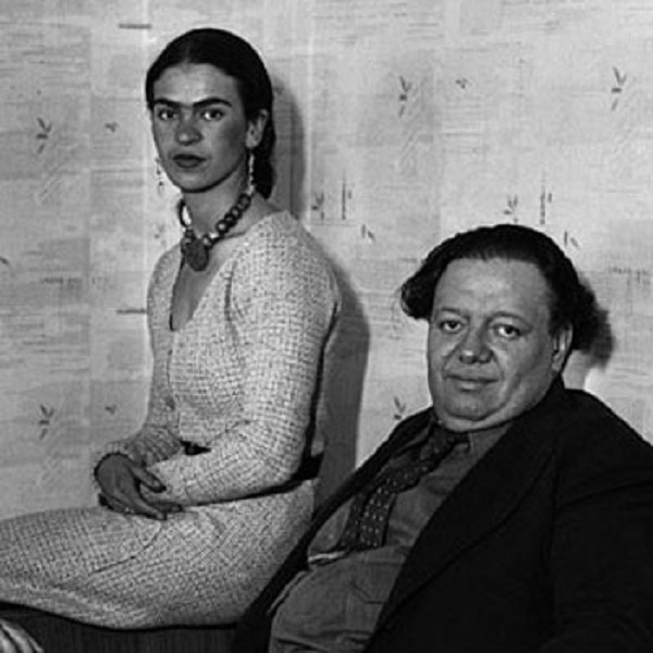 Фрида Кало и Диего Ривера. | Фото: stranamam.ru.