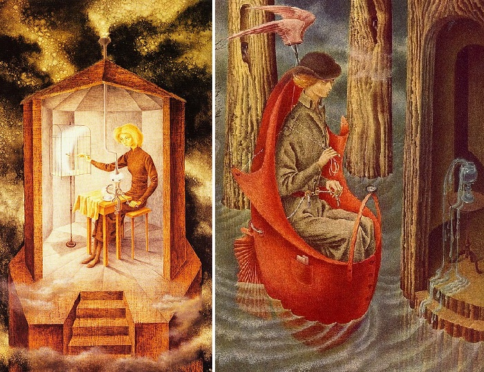 Магический сюрреализм от Remedios Varo.