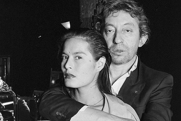 Серж Генсбур с Каролин фон Паулюс.