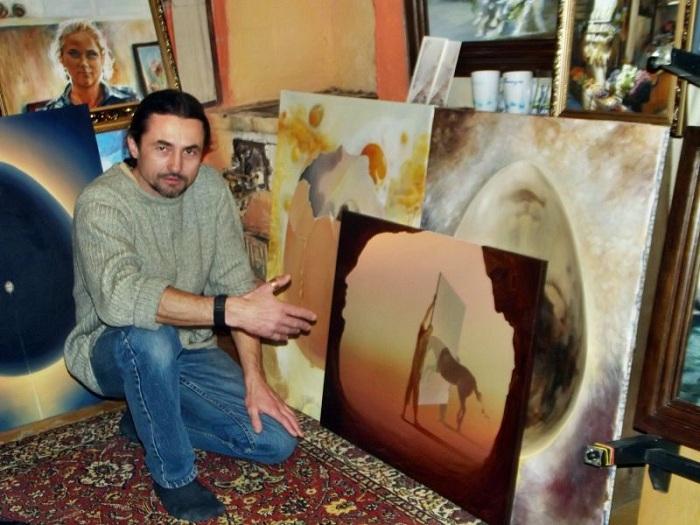 Виктор Брегеда российский художник- сюрреалист